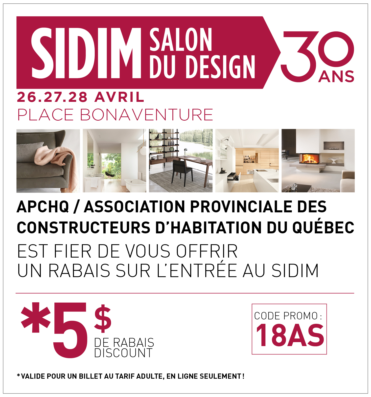 Le Salon International Du Design De Montr Al F Te Son 30e Anniversaire